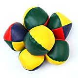 Elcoho 7 Pack Beginners Juggling Balls Durable and Soft Easy Juggle Balls for Kids and Adults (7 Pack 4 Color)