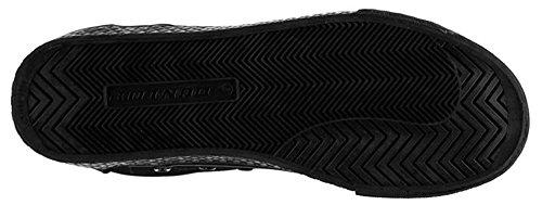 Dunlop , Baskets mode pour homme Taille unique noir/noir
