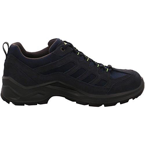 Lowa  310573 6903,  Scarpe da camminata ed escursionismo uomo blu navy/limone Blau