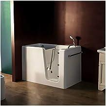 Vasche Da Bagno Piccole Con Sedile.Amazon It Vasca Da Bagno Con Seduta