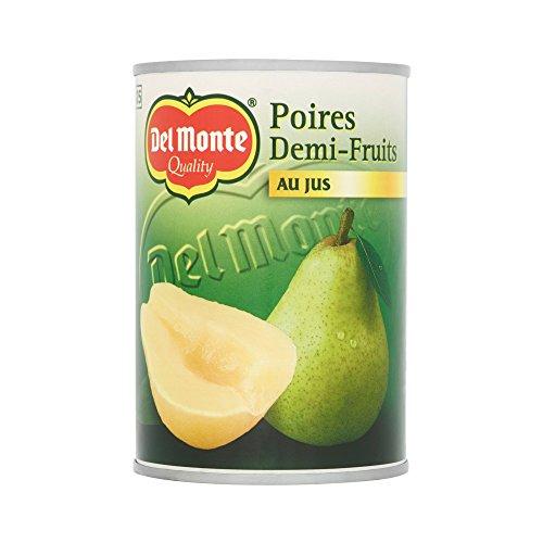 Del Monte Poires Demi-Fruits au Jus 230 g