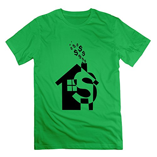 xj-cool-abstract-painting-dollars-house-mens-fashion-t-shirts-forestgreen-size-3x