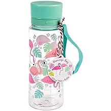 Plástico sin BPA botella de agua 600 ml ...