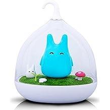 Luz nocturna recargable Totoro azul para niños – bivouvou ...