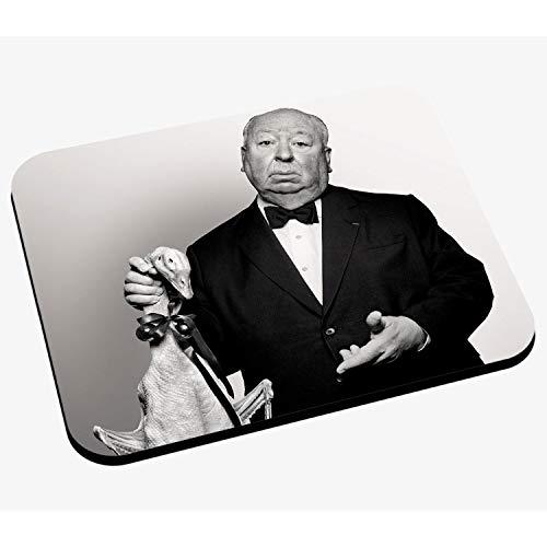 Mausunterlage Foto von Star berühmten Regisseur Alfred Hitchcock Film Original 4