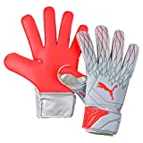 PUMA Future Grip 19.4, Guanti Portiere Unisex Adulto, Grigio (Grey Dawn/Nrgy Red), 8