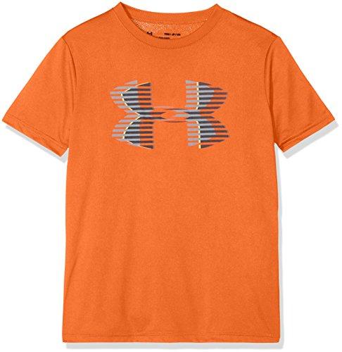 Under Armour Tech Big Logo Solid Boy's Short-Sleeve Shirt