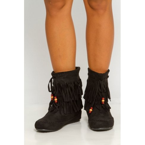 Princesse boutique - Bottines Noires Noir