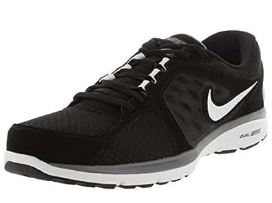 Nike Dual Fusion Mens Running Shoes Black/White 8 UK UK