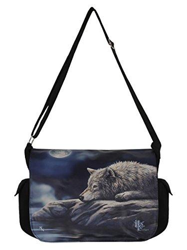 Nemesis Now Lisa Parker Messenger Bag Quiet Reflection