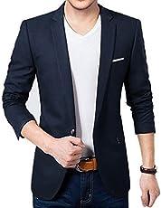BELARIO Men Fashion Mens Navy Blue Casual Wear Blazer