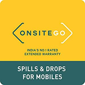 OnsiteGo 1 Year Spills and Drop Protection Plan for Mobiles from Rs. 60001 to Rs. 80000