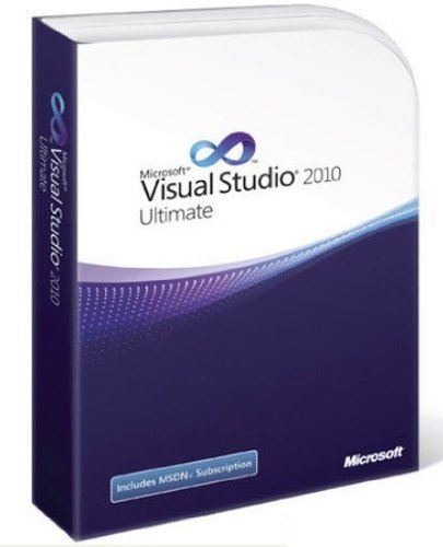 Microsoft Visual Studio 2010 Ultimate, with MSDN (PC) Visual Studio 2010 Software