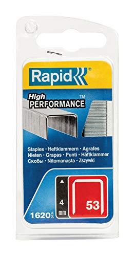 Rapid, 40109501, Agrafes en fil fin N°53, Longueur 4mm, 1620...