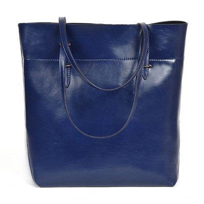 Mefly Nuove borse donna sono di moda semplice spalla singolo diagonale Span di svago e di grande capacità blu blue