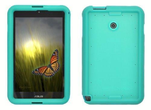 Bobj Silikon-Hulle Heavy Duty Tasche fur ASUS VivoTab Note 8 Tablette M80TA - BobjGear Schutzhulle (Turkis)
