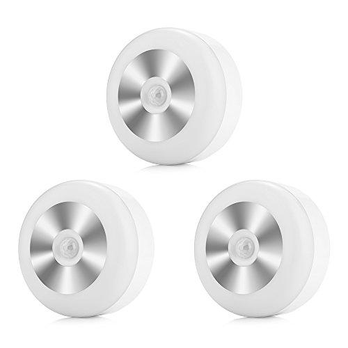 InLife Pack 3 x Downlight LED, Iluminacion LED, Extraplano Redondo Blanco, Iluminación...