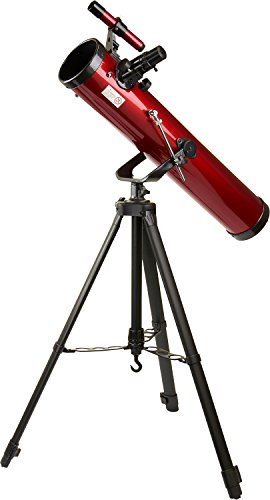 Carson® Red Planet 35-88x76mm Newtonian Reflector Telescope (RP-100)