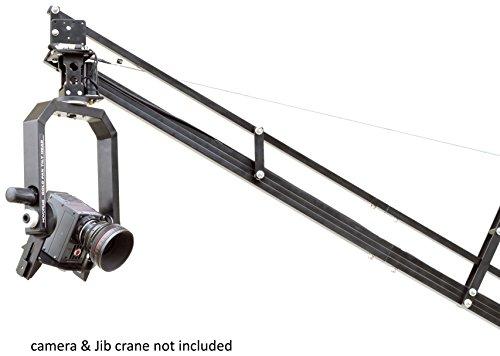 MOVOFILMS Gold Pan Tilt Head with 12V Joystick Control Remote for Jib Camera Crane video Remote-head