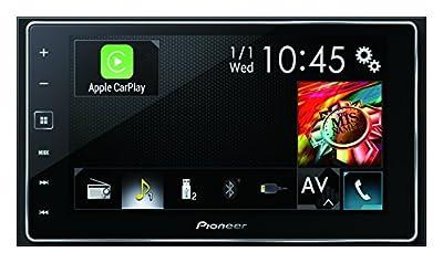 """Pioneer SPH-DA120 Bluetooth Noir récepteur multimédia de Voiture - récepteurs multimédias de Voiture (AM,FM, 4.0 canaux, 15,8 cm (6.2""""), Noir, JPG, AAC,FLAC,MP3,WAV,WMA) de Pioneer"""