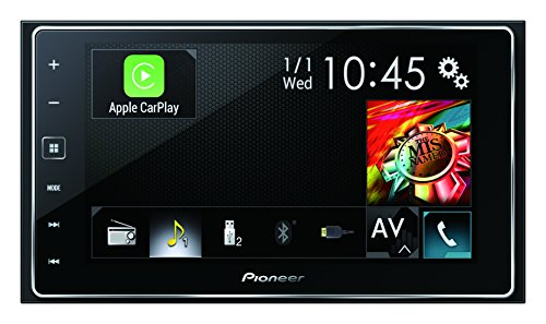 Pioneer SPH-DA120 High Quality 2 Din Autoradio mit Touchscreen 15,8 cm (6,2 Zoll) für Android & iPhone | FLAC, Bluetooth, USB, Freisprecheinrichtung, AUX, Apple Carplay, RDS, Siri Eyes Free, GPS (2din Bluetooth Pioneer)