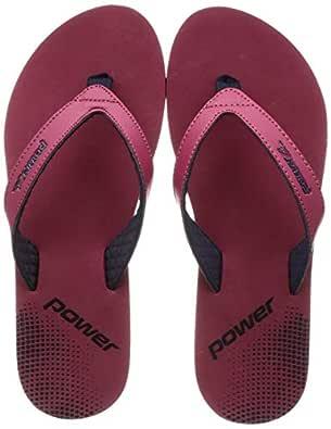 Power Women's Chappal W Red Fashion Slippers-3 UK (36 EU) (5715387)
