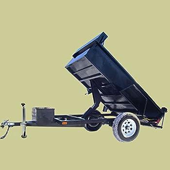 4x Anhängerstütze Abstellstützen Incl. Halterung Und Klemmhalter Für Pkw Anhänger 1