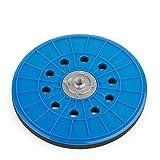 Platorello di Wabrasive | Ø 225 mm|Platorello per Velcro- Carta Vetrata|Ideale per Matrix Smerigliatrice Levigatrice a Parete Levigatrice a Disco e a Secco