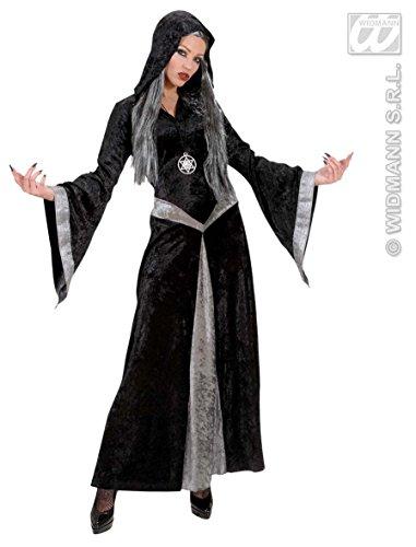 Dunkle Zauberin Kostüm - Generique - Halloween Hexen-Kostüm Dunkle Zauberin für Frauen