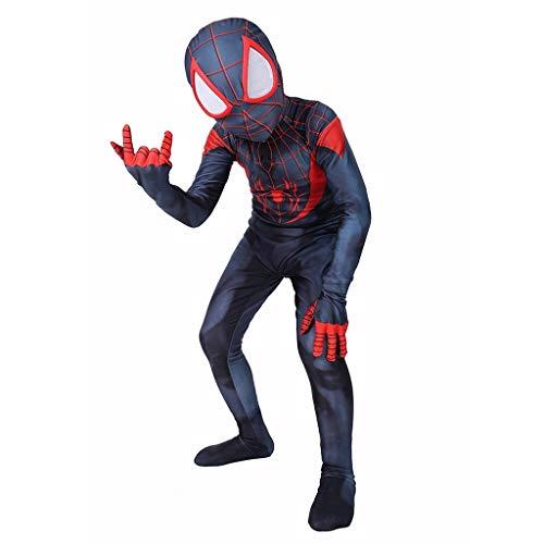 YEGEYA Spiderman Cosplay Kostüm Kids Edition Parallel Universum Halloween Party Strumpfhose Requisiten (Color : Black, Size : - Cosplay Kostüm Astrid