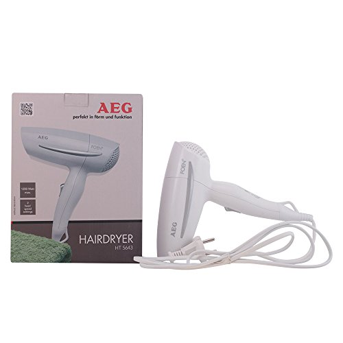 AEG HT 5643 weiß Foen (Weiß Haartrockner)