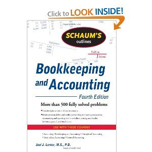 Schaum's Outline of Bookkeeping and Accounting, Fourth Edition (Schaum's Outline Series) 4th (fourth) by Lerner, Joel, Gokarn, Rajul (2009) Paperback