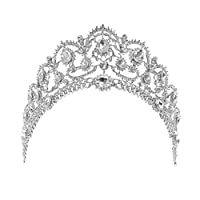 MagiDeal Charmant Princesse Diadème en Cristal Strass Bijou Bandeau de Cheveux Couronne de Nuptiale