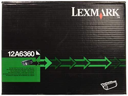 Lexmark T62x 30K wiederaufbereitet Warenkorb für Etiketten (12a6360) -