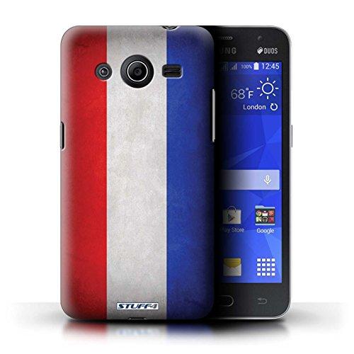 Kobalt® Imprimé Etui / Coque pour Samsung Galaxy Core 2 / Pays de Galles/gallois conception / Série Drapeau Pays-Bas