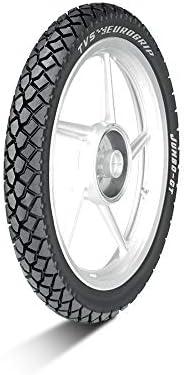 TVS Eurogrip 2.75-18 48P 6PR TEG JUMBO Tube-Type Bike Tyre, Rear (3MCY50)