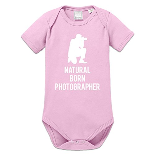 Body bebé Natural Born Photographer by Shirtcity
