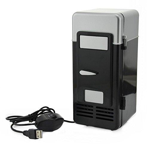 ThreeH Pequeño refrigerador USB Enfriador/calentador de bebidas minibar Bebe refrigerador Para Ordenador...