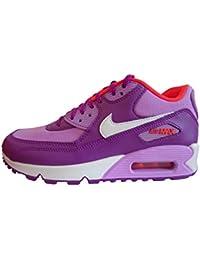 buy popular 91c13 4df97 Nike Air MAX 90 Mesh (GS), Zapatillas de Running para Niñas