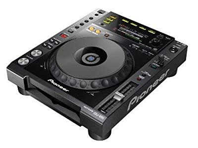 Pioneer cdj850 K, black CD DJ MP3, full control