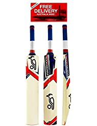 Kookaburra batte de cricket Ignite, taille adulte SH, huilée et knocked-in