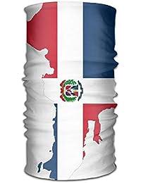 Pengyong República Dominicana Mapa Bandera Unisex Moda de Secado rápido Microfibra para el Aire Libre mágico