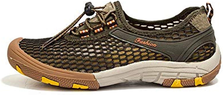 chaussures pour hommes fuxitoggo respirants tenu à à à séchage rapide antidérapantes confortable eau chaussures (coule ur: le vert, taille: royaume uni...b07j6md2hq parent 91ee7c