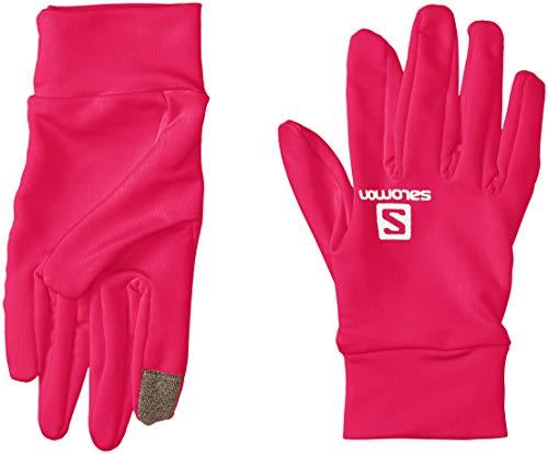 Preisvergleich Produktbild Salomon Gloves Agile Warme Handschuhe Unisex,  Unisex Herren,  Agile Warm Glove U,  kirschrot,  X-Small