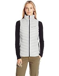 Helly Hansen W Verglas Down Insulator Vest - Chaleco para mujer, color blanco, talla L