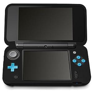 kwmobile Nintendo New 2DS XL Hülle – Silikon Case für Nintendo New 2DS XL Schutzhülle in Schwarz
