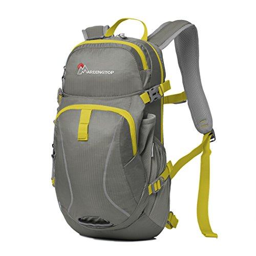 Mardingtop Fahrradrucksäcke Fahrrad Schulter Rucksack Wander Reisetasche Backpacks für Outdoor Radsport Reiten Bergsteigen grau