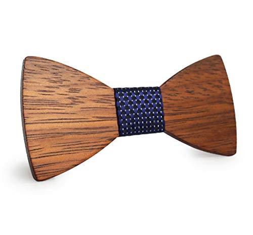 Gaira Pajarita corbatin de madera con tirantes elasticos ajustables tendencia clasica para bodas y fiestas elegantes Regalo para hombres