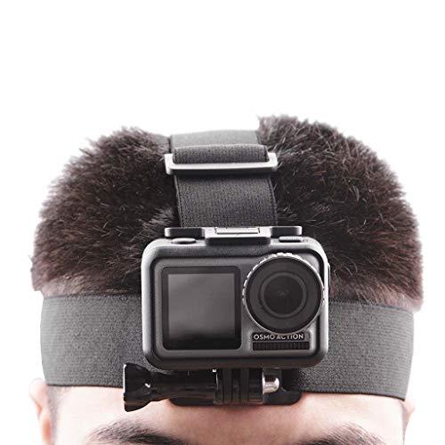 Quaan Head Strap Mount Gürtel Stirnband Halter für DJI OSMO Action für GoPro Hero Kamera - Magnet-mount-antenne