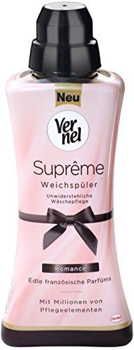 Vernel Suprême Weichspüler Romance Flasche, 7er Pack (7 x 600 ml)